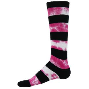 Red Lion Rugger Tie Dye Striped Athletic Socks