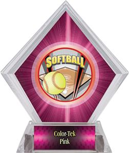Awards ProSport Softball Pink Diamond Ice Trophy