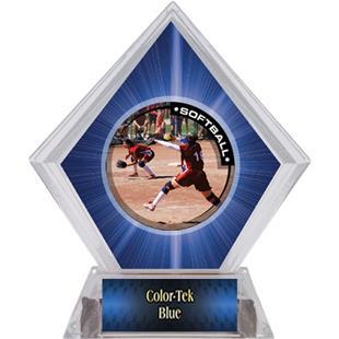 Awards P.R.1 Softball Blue Diamond Ice Trophy