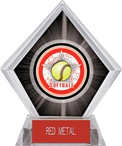 Awards All-Star Softball Black Diamond Ice Trophy