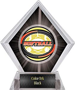 Awards Classic Softball Black Diamond Ice Trophy