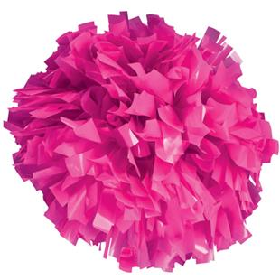 Pizzazz 1 Color Plastic Cheerleaders Poms