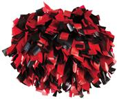 Pizzazz 2 Color Plastic Cheerleaders Poms