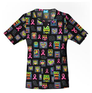 Cherokee Scrub HQ Breast Cancer Awareness Scrub