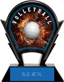 """Hasty Awards 6"""" Stealth Volleyball Resin Trophies"""