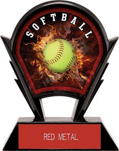 "Hasty Awards 6"" Stealth Softball Resin Awards"
