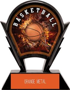 "Hasty Awards 6"" Stealth Basketball Resin"