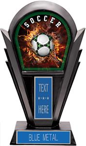 Hasty Awards Team Stealth Soccer Resin Trophies