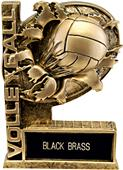 "Hasty Awards 6"" Bust-Out Volleyball Resin Trophies"