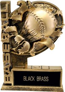 "Hasty Awards 6"" Bust-Out Baseball Resin Awards"