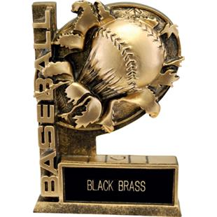 "Hasty Awards 6"" Bust-Out Baseball Resin Trophies"