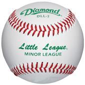 Diamond DLL-3 Little &  Minor League baseballs