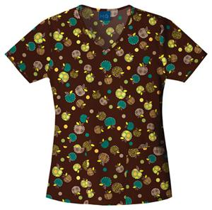Cherokee Scrub HQ Womens V-Neck Scrub Top