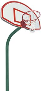 Jaypro 4' Ext. Outdoor Basketball Post And Goal