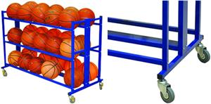 Jaypro Totemaster Atlas Double Ball Cart