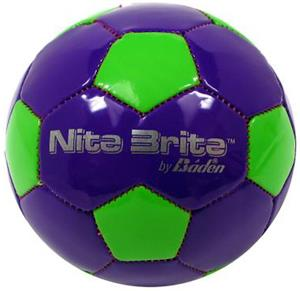 Baden Nite Brite Mini Glow-in-Dark Soccer Balls