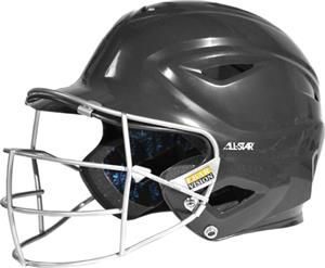 ALL-STAR S7 BH3000FP Softball Helmet w/Face Guard