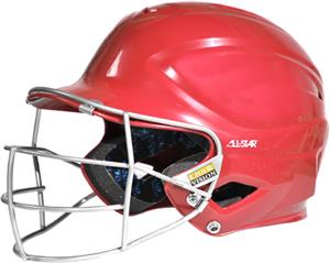 ALL-STAR S7 Youth Batting Helmet w/Guard-NOCSAE