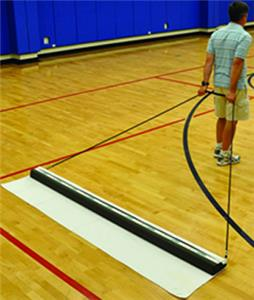 Jaypro 8' Courtclean Unit With Towel
