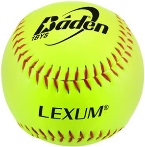 "Baden ASA Lexum Slowpitch 12"" Softballs 1BYS"