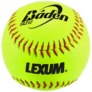 "Baden ASA Leather COR .44 Slowpitch 12"" Softballs"