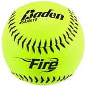 "Baden NSA Slowpitch Yellow 12"" or 11"" Softballs"
