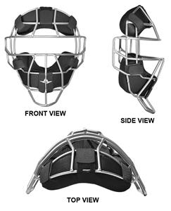 ALL-STAR System Seven Baseball Umpire's Mask