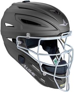 ALL-STAR Matte Baseball Umpire Helmet-NOCSAE
