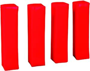 Jaypro Anchorless Football Endzone Pylons