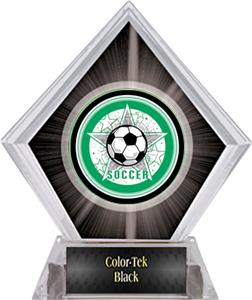 Awards All-Star Soccer Black Diamond Ice Trophy