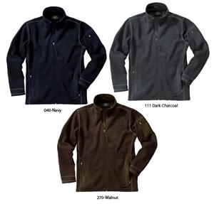 Charles River Mens Eclipse Knit Fleece Jacket