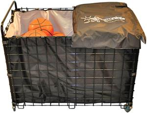 Jaypro GermNinja Rollaway Ball Cart/Sanitizer Bag