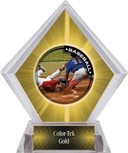Awards P.R.2 Baseball Yellow Diamond Ice Trophy
