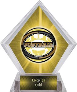 Awards Classic Football Yellow Diamond Ice Trophy