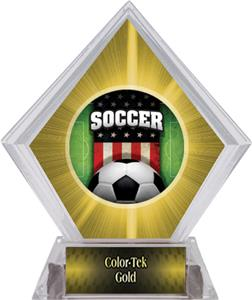 Awards Patriot Soccer Yellow Diamond Ice Trophy