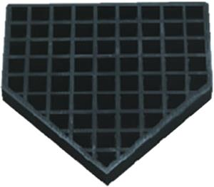 Jaypro Bury-All Rubber Filled Baseball Home Plate