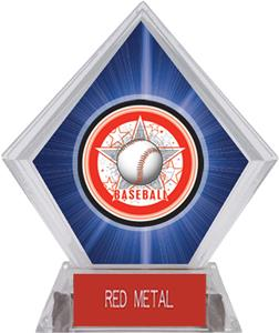 Awards All-Star Baseball Blue Diamond Ice Trophy