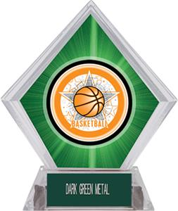 All-Star Basketball Green Diamond Ice Trophy