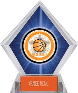 All-Star Basketball Blue Diamond Ice Trophy