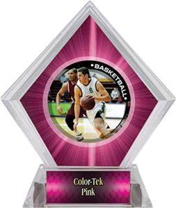 P.R. Male Basketball Pink Diamond Ice Trophy