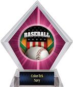 Awards Patriot Baseball Pink Diamond Ice Trophy