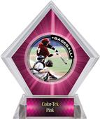 Awards P.R.1 Baseball Pink Diamond Ice Trophy