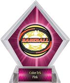 Awards Classic Baseball Pink Diamond Ice Trophy