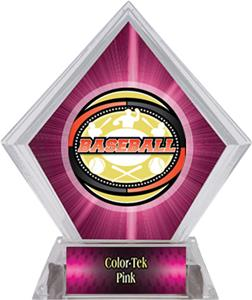 Awards Classic Baseball Pink Diamond Ice Trophy