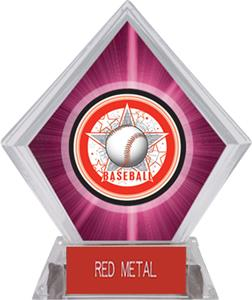 Awards All-Star Baseball Pink Diamond Ice Trophy