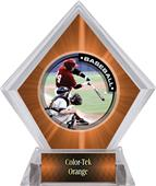 Awards P.R.1 Baseball Orange Diamond Ice Trophy