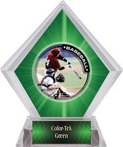 Awards P.R.1 Baseball Green Diamond Ice Trophy