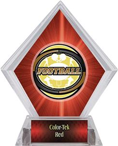 Awards Classic Football Red Diamond Ice Trophy