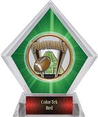 Awards ProSport Football Green Diamond Ice Trophy