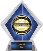 Awards Classic Football Blue Diamond Ice Trophy
